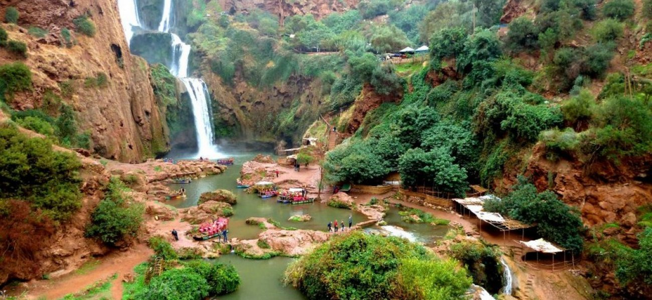 Day trip to the Waterfalls of Ouzoud